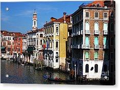 Venezia Colors Acrylic Print by John Rizzuto