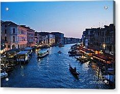 Venezia - Il Gran Canale Acrylic Print