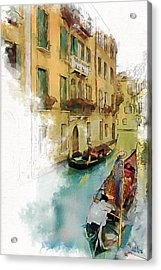 Venice 1 Acrylic Print by Greg Collins