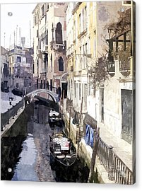 Venice 1 Acrylic Print by Julie Woodhouse