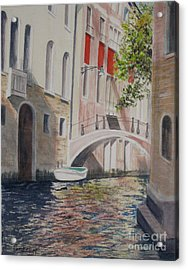 Venice 2000 Acrylic Print by Carol Flagg