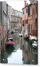 Venice Backstreets Acrylic Print