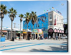 Venice Beach Boardwalk Acrylic Print