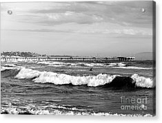 Venice Beach Waves IIi Acrylic Print by John Rizzuto