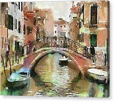 Venice Bridges 2 Acrylic Print