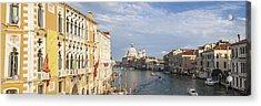 Venice Canal Grande And Santa Maria Della Salute Acrylic Print