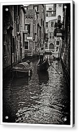 Venice Canal Memory Acrylic Print by Madeline Ellis