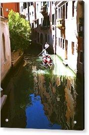 Venice Canal Acrylic Print by Paul Tagliamonte