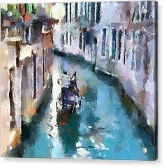 Venice Canals 6 Acrylic Print