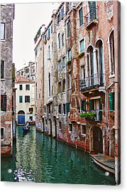 Venice City Of Water 2 Acrylic Print by Julie Palencia