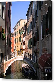 Acrylic Print featuring the photograph Venice by Dany Lison