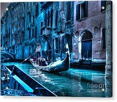 Acrylic Print featuring the photograph Venice Dream by Hanza Turgul