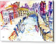 Venice Acrylic Print by Edgar Rafael