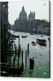 Venice Grand Canale Italy Summer Acrylic Print