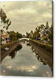 Acrylic Print featuring the photograph Venice In December by Kevin Bergen