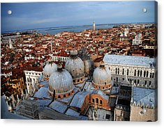 Venice In Glory Acrylic Print by Jacqueline M Lewis