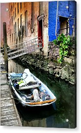 Venice In New York Acrylic Print