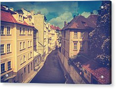 Venice In Prague Acrylic Print by Taylan Apukovska