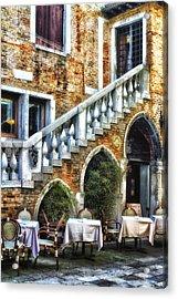 Venice Italy - Romance Acrylic Print