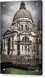Venice Italy - Santa Maria Della Salute Acrylic Print by Gregory Dyer