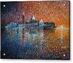Venice Jewel Of The Adriatic Acrylic Print by Les Conroy