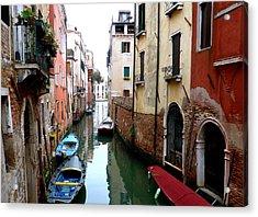 Venice Acrylic Print by Bishopston Fine Art