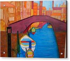 Venice Acrylic Print by Judi Goodwin