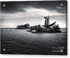Venice Lagoon Acrylic Print by Gregory Dyer