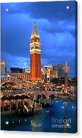 Venice Las Vegas Acrylic Print