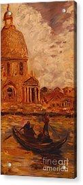 Venice Morning Acrylic Print by Nancy Bradley