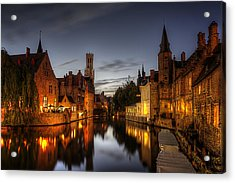 Acrylic Print featuring the photograph Venice Of The North by Ryan Wyckoff