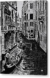 Venice Acrylic Print by Patricio Lazen