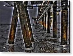 Venice Pier Darkly Acrylic Print
