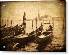 Venice Postcard Acrylic Print by Jessica Jenney