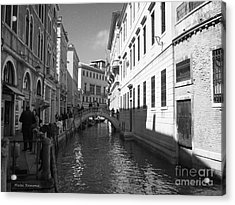 Venice Series 4 Acrylic Print by Ramona Matei