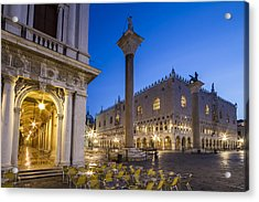 Venice St Mark's Square And Doge's Palace In The Morning Acrylic Print