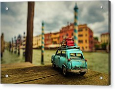 Venice Stopped Acrylic Print by Luis Francisco Partida