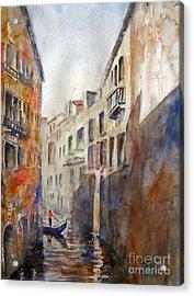 Venice Travelling Acrylic Print