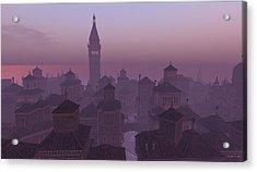 Venice Twilight Acrylic Print