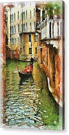Venice View Acrylic Print by Cary Shapiro