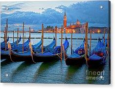Venice View To San Giorgio Maggiore Acrylic Print