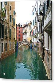 Venice Waterway Acrylic Print