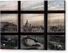 Venice Window Acrylic Print