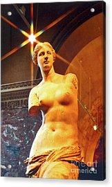 Venus De Milo Acrylic Print by Elizabeth Hoskinson
