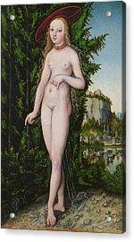 Venus In A Landscape, 1529 Acrylic Print