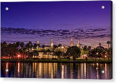 Venus Over The Minarets Acrylic Print by Marvin Spates