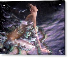 Venus Rising Acrylic Print by Gun Legler