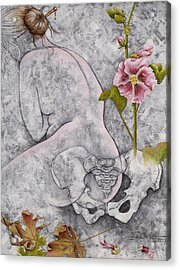 Acrylic Print featuring the painting Venus by Sheri Howe