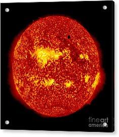 Venus Transit Acrylic Print by NASA and Photo Researchers