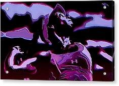 Venus Williams Queen V Acrylic Print by Brian Reaves